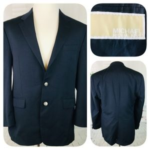 Michael Kors 100% Wool Sport Coat Blazer